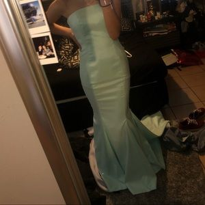 Mermaid prom dress for sale (: